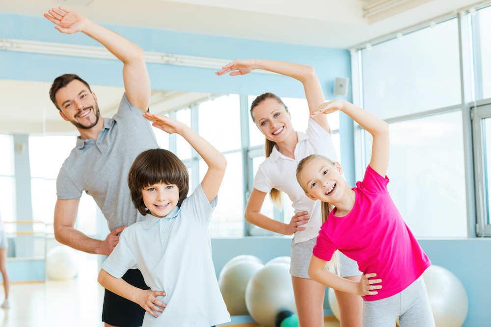 Los beneficios de hacer deporte en familia