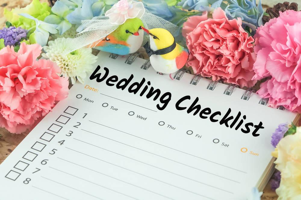 Organizando bodas un año antes del evento