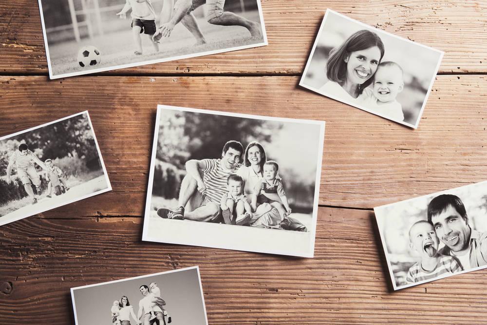 Ideas para fotos en familias