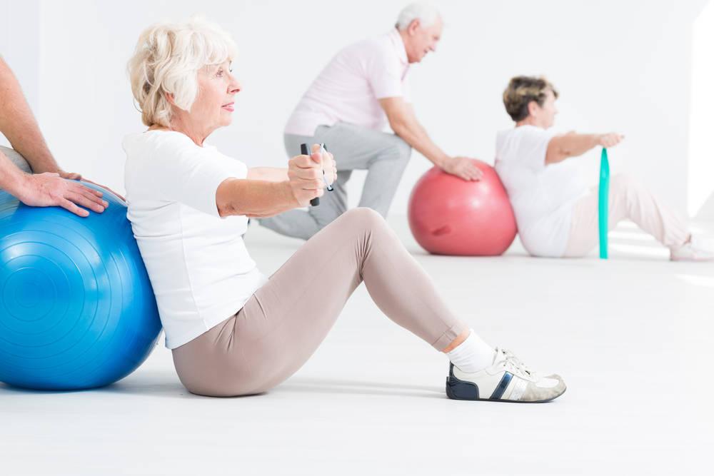 El ejercicio físico retrasa la falta de movilidad