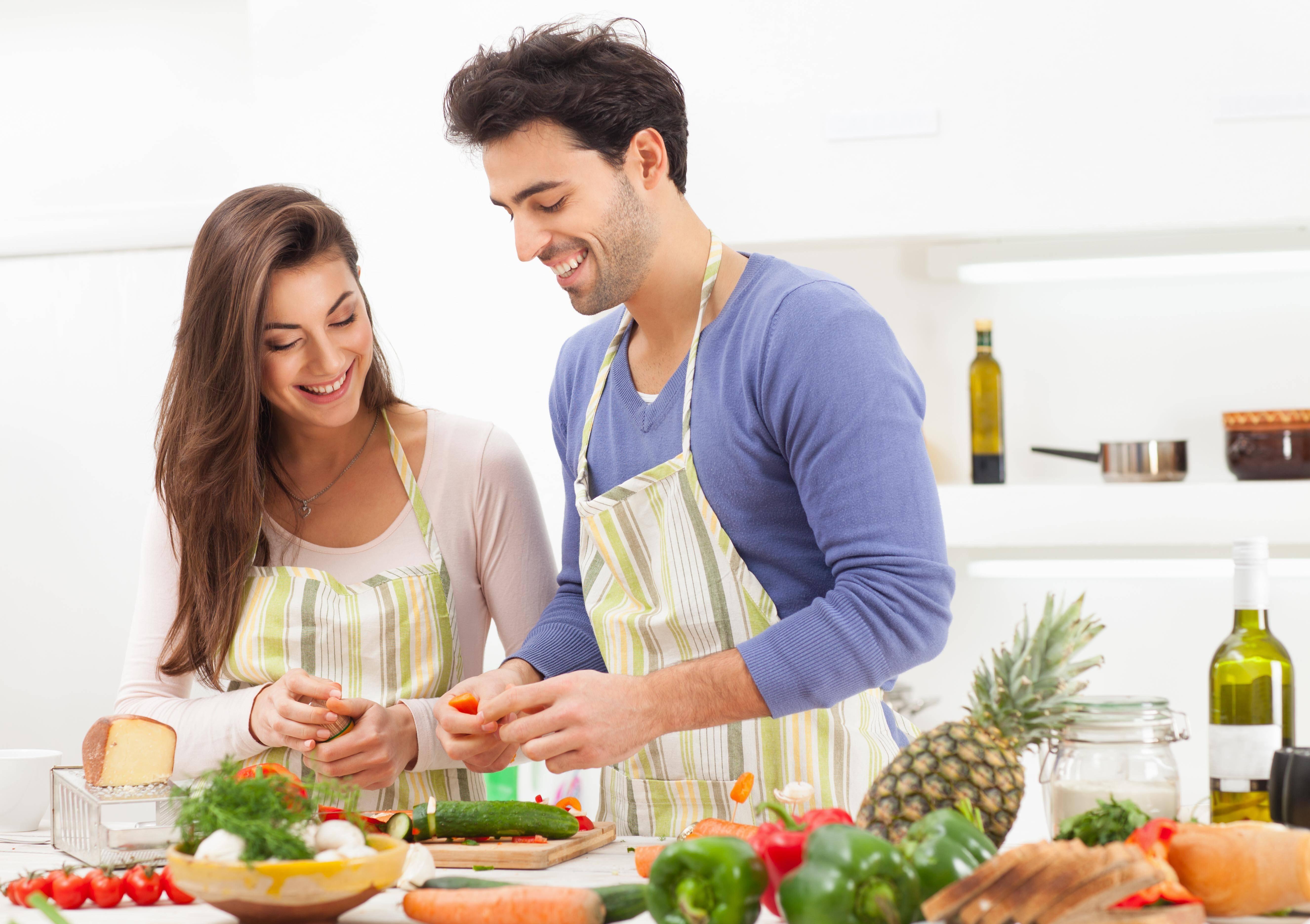 Vida en pareja, vida en la cocina