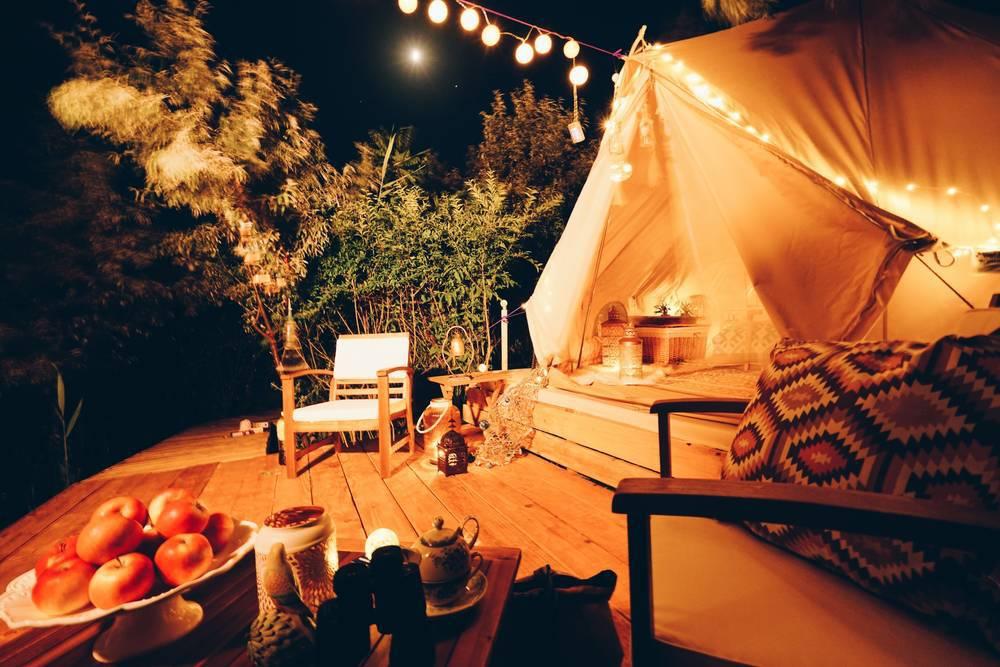 Viajar en familia: analizando campings