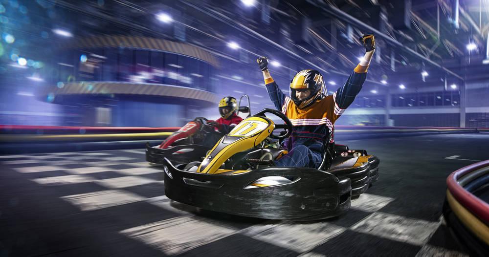Chicharrakarts, velocidad y diversión