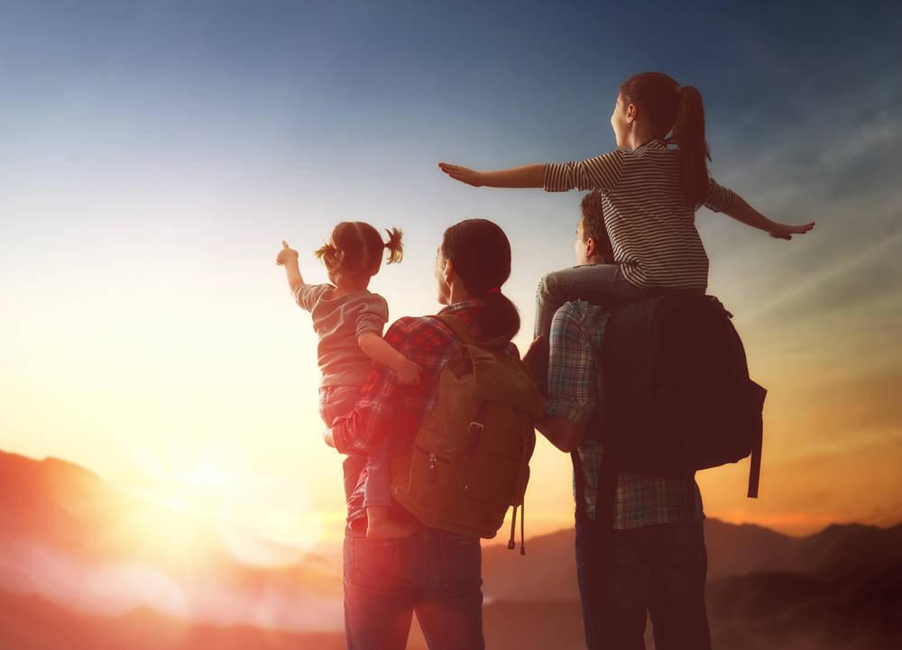 Trucos para viajar en familia