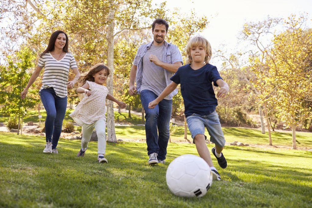Beneficios de jugar al aire libre